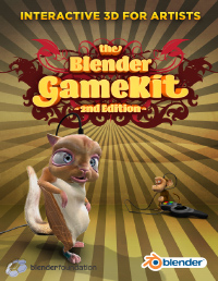 The Blender GameKit front cover